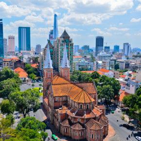 Vietnam: Hin- und Rückflüge nach Ho Chi Minh nur 349€