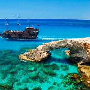 Ab ans Mittelmeer: 8 Tage auf Zypern mit 4* Hotel & Flug nur 92€