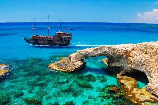 Zypern Cavo Greko Schiff