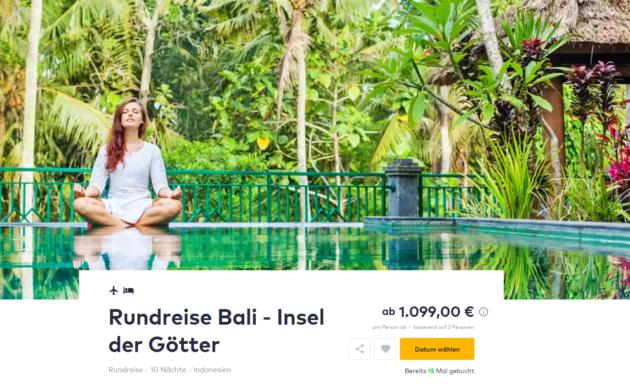 11 Tage Bali