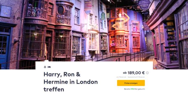 3 Tage Harry Potter