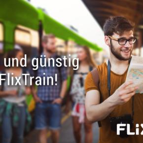 FlixTrain Aktion: Fahrten nach Hamburg, Berlin, Frankfurt, Köln & mehr für 2,19€