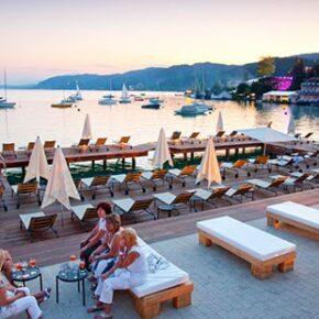 Hotel mit Blick auf See, Lake's my lake hotel & spa
