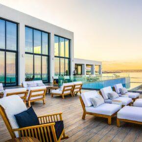 Abaton Island Resort Sonnenterrasse