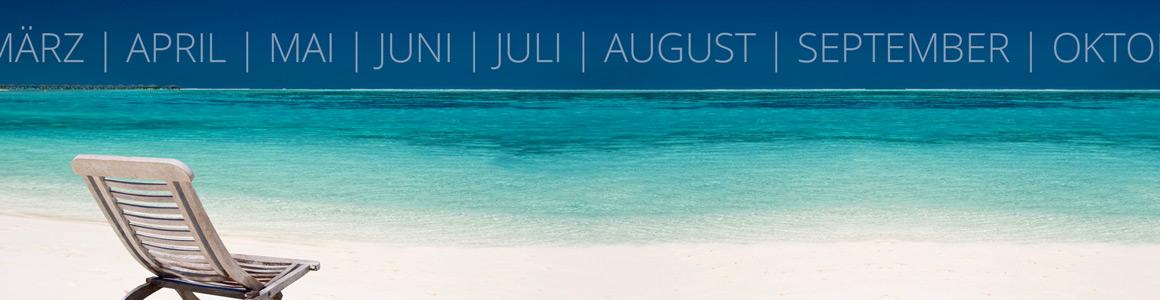 Bahamas Reisekalender