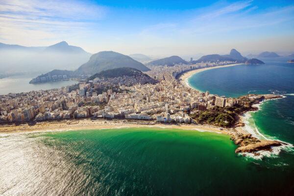 Brasilien Rio Copacabana Strand