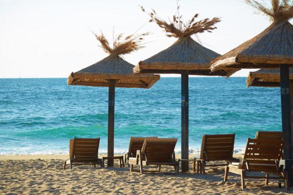 Bulgarien Schwarzes Meer Strand