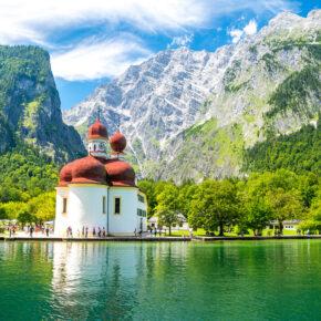 Auszeit am Wochenende: 3 Tage an den Königssee inkl. Unterkunft & Frühstück für 61€