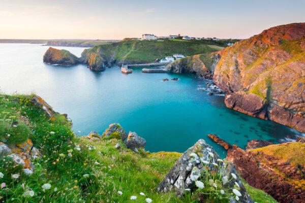 England Cornwall Küste