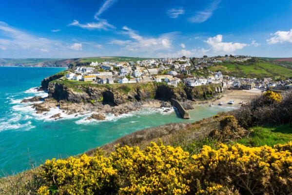 England Cornwall Meer