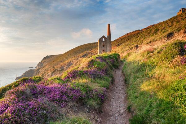 England Cornwall Wanderweg