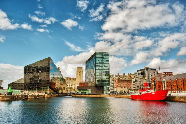 England Liverpool Albert Dock