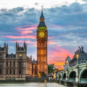 Städtetrip: 2 Tage in London mit zentraler Unterkunft & Flug nur 35€