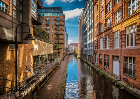 England Manchester Fluss