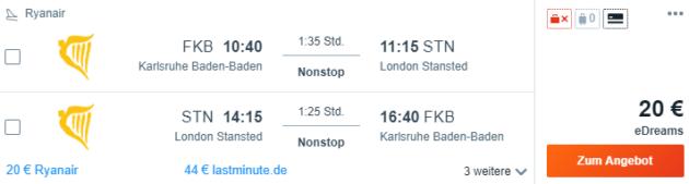 FKB nach London
