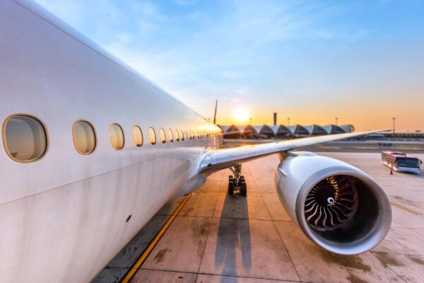 Flugzeug Turbine