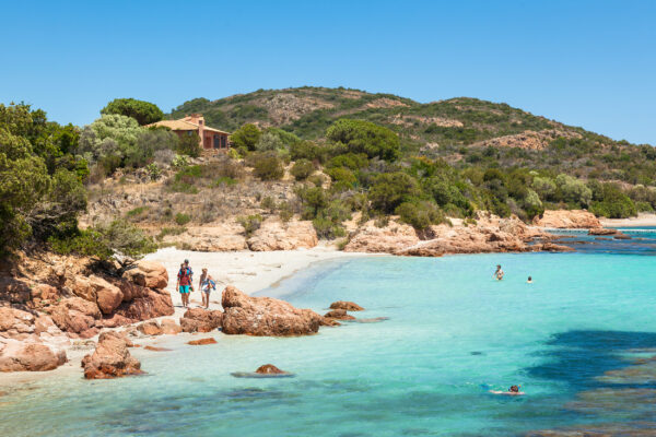 Frankreich Korsika Santa Rondinara