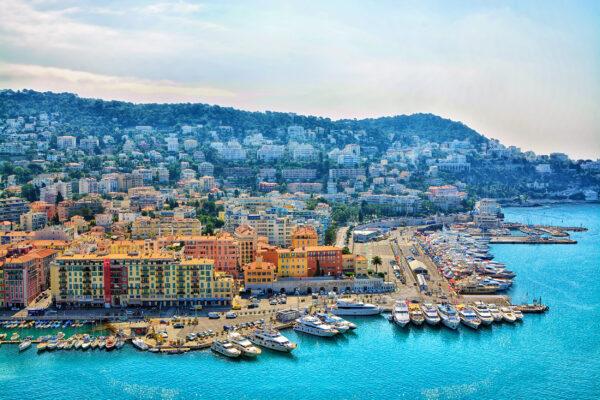 Frankreich Nizza Hafen