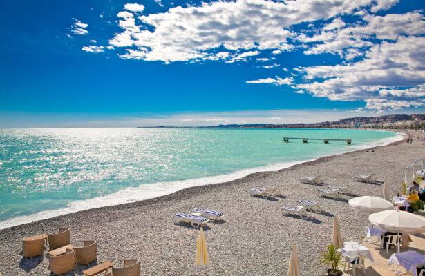 Frankreich Nizza Strand