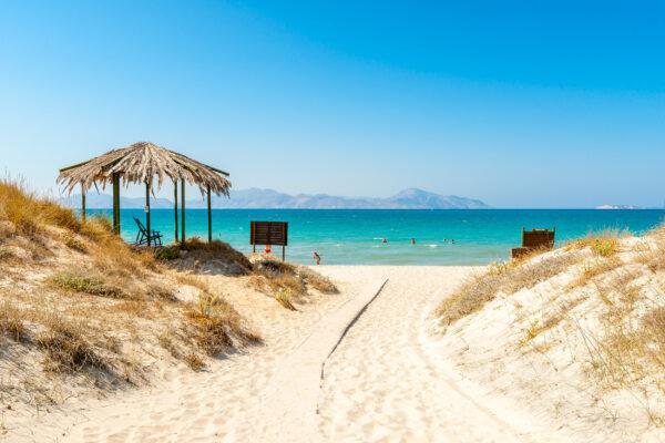 Griechenland Kos Strandweg