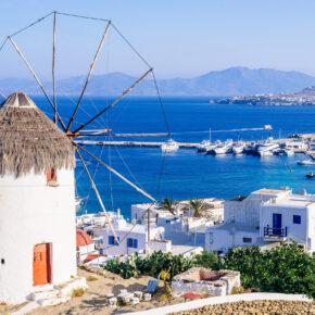 Inselhopping: 8 Tage in Athen, Santorini & Mykonos mit Hotels, Frühstück, Flug & Transfer nur 669€