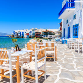 Mykonos mit Meerblick: 8 Tage in eigenem Apartment mit Flug nur 192€