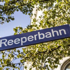 Hamburg Reeperbahn Schild