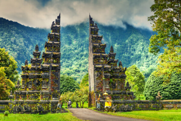 Indonesien Bali Candi Bentar Bedugal