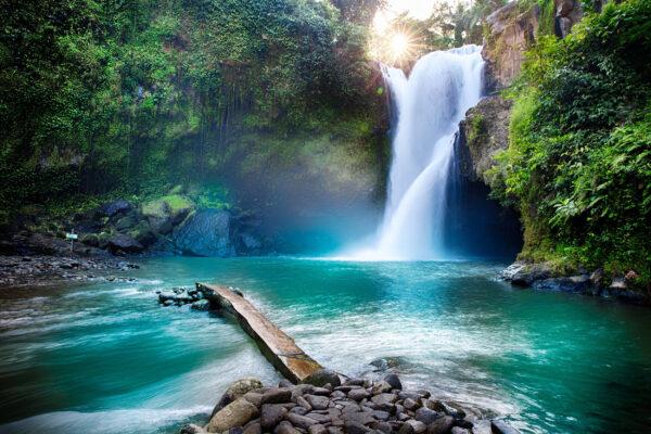 Indonesien Bali Tegenungan Wasserfall
