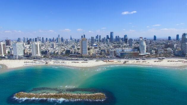 Israel Tel Aviv Skyline