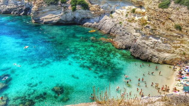 Italien Apulien Santa Cesarea Terme