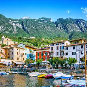 Italien: 4 Tage Malcesine im 3* Hotel direkt am Gardasee mit Halbpension ab 99€