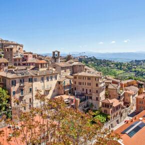 Langes Wochenende in Italien: 4 Tage Perugia mit TOP Unterkunft, Frühstück & Flug nur 84€