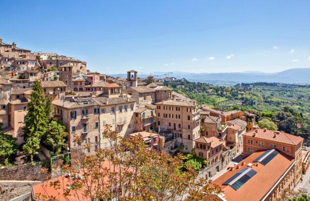 Italien Perugia Überblick