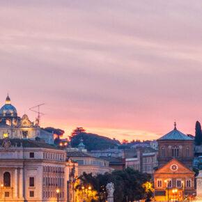 Sommer-Städtetrip nach Rom: 3 Tage im tollen 4* Hotel mit Frühstück, Flug & Fahrradverleih ab 119€