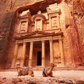 Majestätisches Jordanien: Hin- und Rückflüge nach Jordanien nur 46€