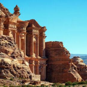 Die einst verschollene Stadt: Petra in Jordanien