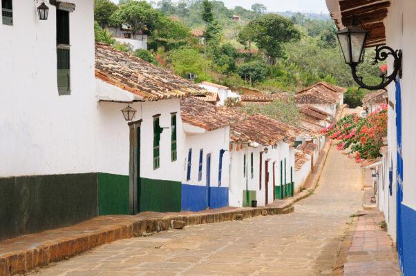 Kolumbien San Gil Straße