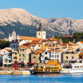 Kroatien Kvarner Bucht Baska