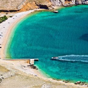 Kroatien Kvarner Bucht Krk Strand