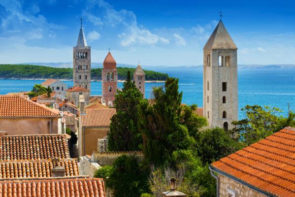 Kroatien Kvarner Bucht Rab