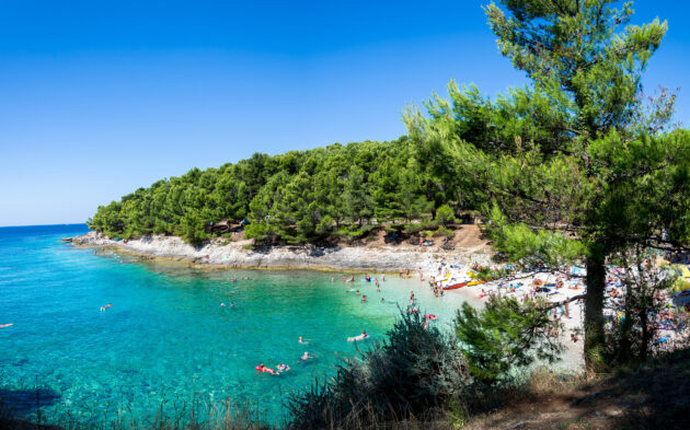 Kroatien Pula Strand