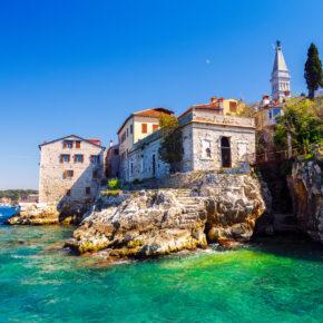 Im Sommer nach Kroatien: 8 Tage Istrien mit Apartment & Flug für 94€