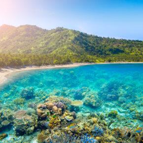 Error Fare: 22 Tage auf der indonesische Insel Lombok mit privatem Bungalow & Frühstück nur 9€