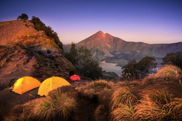Lombok Vulkan Rinjani Aufstieg