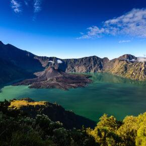 Lombok Vulkan Rinjani Krater