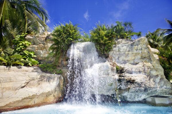 Malaysien Langkawi Wasserfall