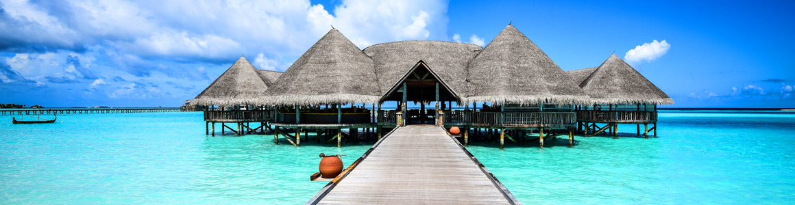 Malediven Steg Reisekalender