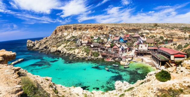 Malta Popeye Village Oben