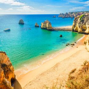Algarve: 5 Tage im TOP 4* Hotel mit Frühstück & Flug nur 129€